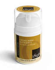 crema mani nutriente all olio di argan