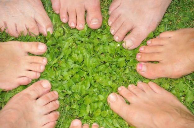 Funghi su trattamento di unghie a mano